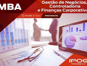 MBA Gestão de Negócios, Controladoria e Finanças Corporativas